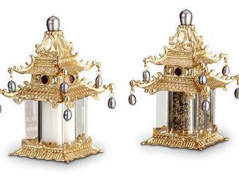 L'OBJET - pagoda spice jewels - Salière Et Poivrière