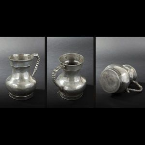 Expertissim - pot � eau en �tain. metz, xviiie si�cle - Pichet