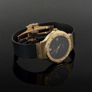 Expertissim - hublot. montre-bracelet de dame classic en or et a - Montre