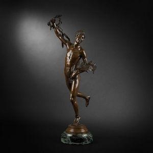 Expertissim - henri greber. victorieux - Sculpture