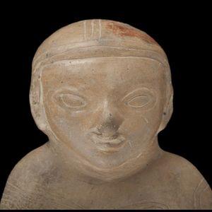 Expertissim - figure-sifflet en terre cuite guangala - Objet D'art Précolombien