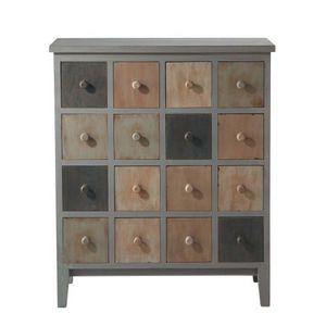 Maisons du monde - cabinet gris solferino - Cabinet