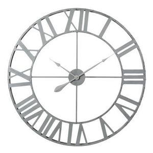 Maisons du monde - horloge zinc grand mod�le - Horloge De Cuisine