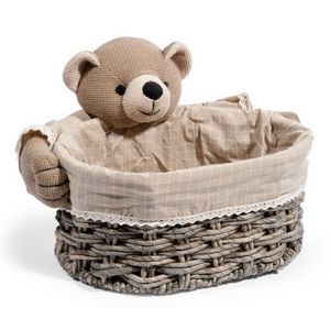 Maisons du monde - corbeille bear grand mod�le - Corbeille B�b�