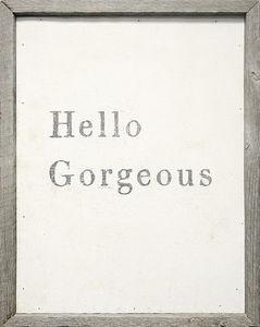 Sugarboo Designs - art print - hello georgeous - Tableau D�coratif