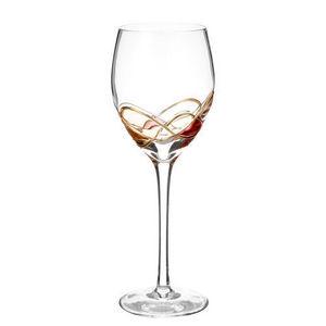 Maisons du monde - verre à vin fil or - Verre À Pied