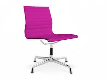 Privatefloor - Aluminium Group Ea 105 Simili Cuir - Chaise De Bureau