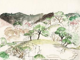 IN CREATION - carnet de voyages - japon - jardin isuen - Panneau D�coratif