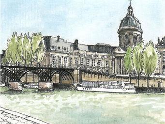 IN CREATION - carnet de voyages - p�niche et pont - Panneau D�coratif