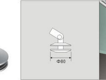 ALLIAGE CONCEPT - attache tirant verre pour marquise en verre - Marquise (auvent)