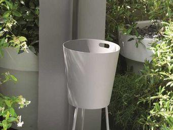 LAORUS - fontaine de jardin design gris souris 120x40cm - Fontaine D'ext�rieur