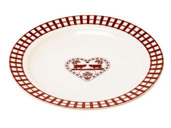 Athezza - assiette plate valloire d27cm - Assiette Plate