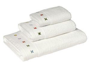 BLANC CERISE - serviette de toilette - coton peigné 600 g/m² - br - Serviette De Toilette