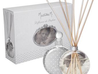 Mathilde M - diffuseur verre soufflé anges amoureux, parfum pou - Diffuseur De Parfum