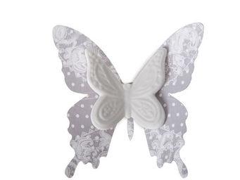 Mathilde M - papillon biscuit � pince ch�rubins - D�cor �v�nementiel