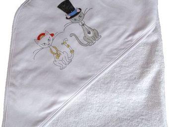 SIRETEX - SENSEI - cape de bain jersey/eponge imprimé misti bad and d - Cape De Bain