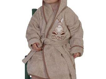 SIRETEX - SENSEI - peignoir enfant brodé kadichon l'ane - Peignoir Enfant