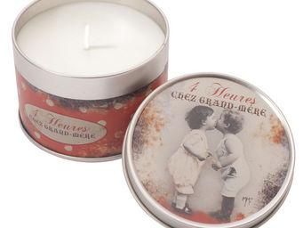 Orval Creations - bougie parfum 4 heures chez grand-m�re - Bougie Parfum�e