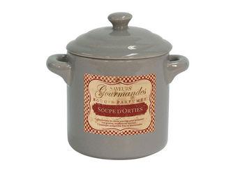 Orval Creations - bougie cocotte parfum�e soupe d'orties - Bougie Parfum�e