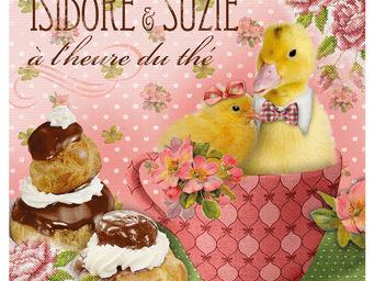 Orval Creations - dessous-de-plat isidore et suzie - Dessous De Plat