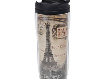 Orval Creations - travel mug paris monuments - Bouteille Isotherme