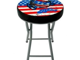 Avenue Of The Stars - tabouret pliant mm mr miss bump vintage usa - Tabouret Pliant