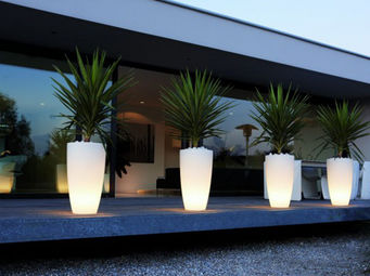 ACHATDESIGN - d�coration sunset lumineux transparent - Pot Lumineux