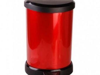 SCHUMANN PROFESSIONNEL - poubelle 40 litres inox rouge - Couscoussier