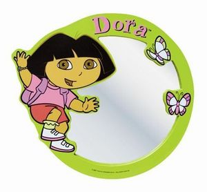 DORA - miroir dora vert - Cadre Photo Enfant