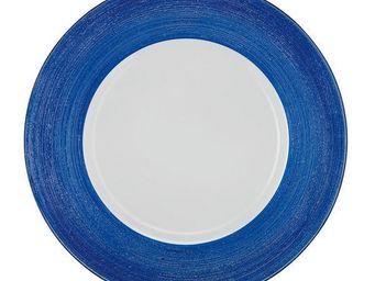 Greggio - blue lay plate art 19880175 - Dessous D'assiette