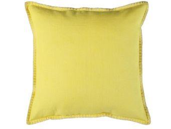 BLANC D'IVOIRE - julia citron - Coussin Carr�