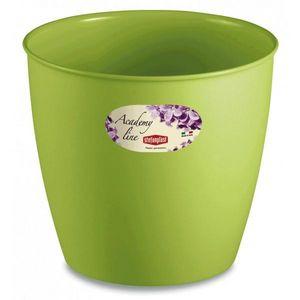 Stefanplast - lot de 3 cache-pots ou pots de fleurs ronds 1.4 l - Cache Pot