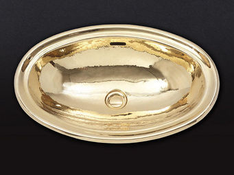 Cristal Et Bronze - atlantide - Vasque À Encastrer