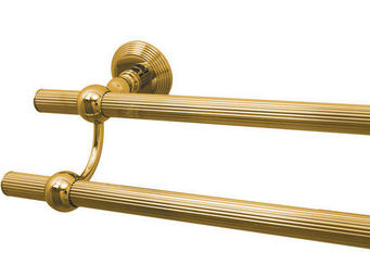 Cristal Et Bronze - cannelé - Porte Serviettes