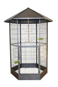 ZOLUX - volière héxagonale mélody en métal 208x151x131cm - Cage À Oiseaux