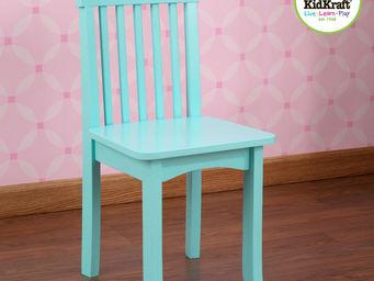 KidKraft - chaise bleue ciel en bois pour enfant 34x32x68cm - Chaise Enfant