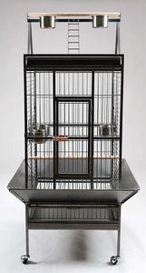 ZOLUX - cage pour perroquet jacquot 82x78x167cm - Cage À Oiseaux