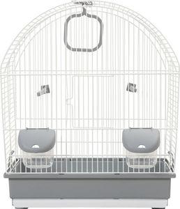 ZOLUX - cage oiseaux paris grise 41x25.5x48cm - Cage À Oiseaux