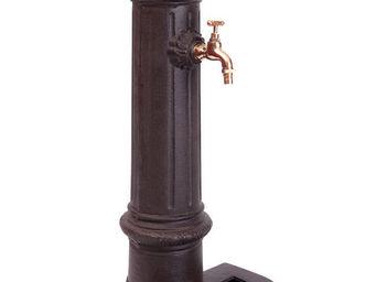 Antic Line Creations - fontaine de jardin antique en fonte 28x31x77cm - Fontaine D'ext�rieur