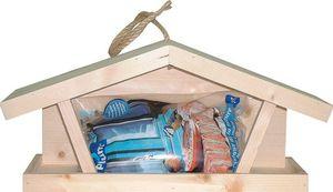LES ANIMAUX DU JARDIN - kit mangeoire tramontane avec 1kg de graines - Mangeoire À Oiseaux