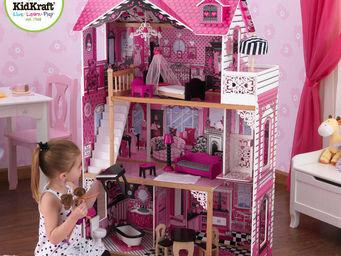 KidKraft - maison de poup�es manoir am�lia en bois 83x41x121c - Maison De Poup�e