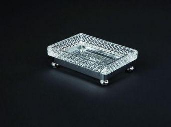 Cristal Et Bronze - cristal taille d - Porte Savon � Poser