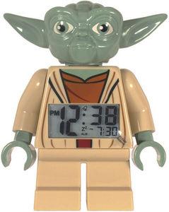 Lego - réveil digital lego star wars yoda 18cm avec alarm - Réveil Matin Enfant