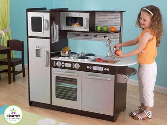 KidKraft - cuisine pour enfant expresso en bois 109x45x104cm - Jouets De Poup�e