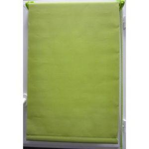 Luance - store enrouleur tamisant 45x180 cm vert - Store Occultant