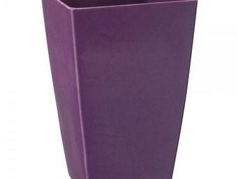 NetCadeau - vase bambou violet - Cache Pot