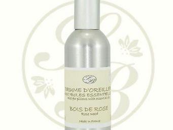 Savonnerie De Bormes - brume d'oreiller - bois de rose - savonnerie de b - Brume D'oreiller