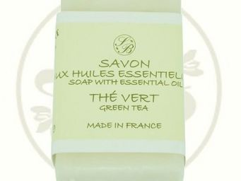 Savonnerie De Bormes - savon pur végétal aux he - thé vert - 100 gr - sav - Savon