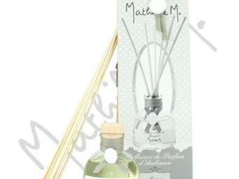 Mathilde M - diffuseur de parfum d'ambiance tiges de rotin - p - Diffuseur De Parfum Par Capillarité