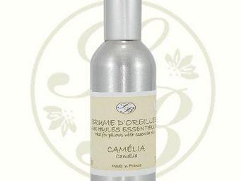 Savonnerie De Bormes - brume d'oreiller - camélia - 100 ml - savonnerie - Brume D'oreiller